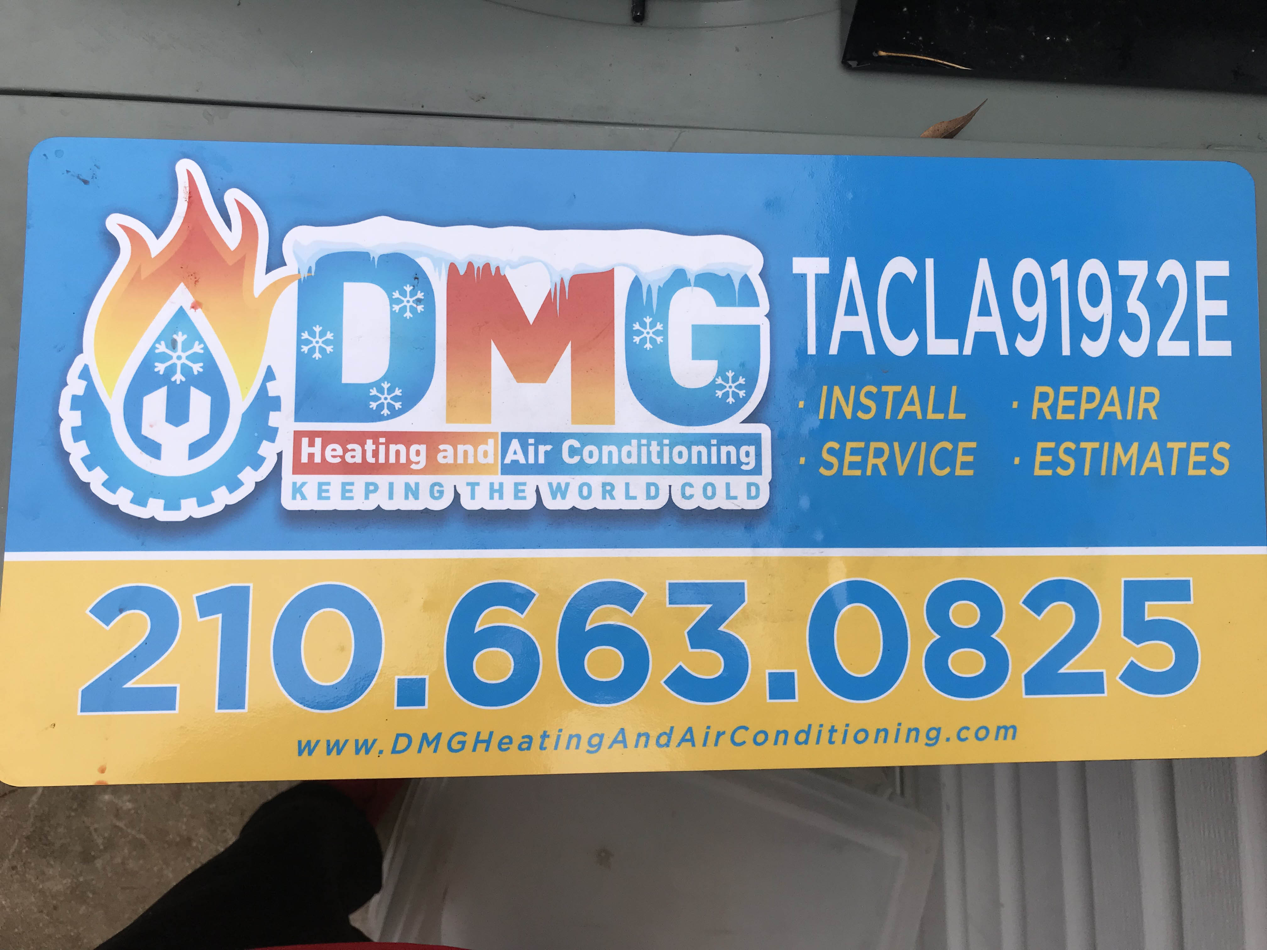 Dmg Heating And Air Conditioning Llc For R22 Refrigerant