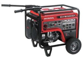 HONDA Electric Start Generator 4500W
