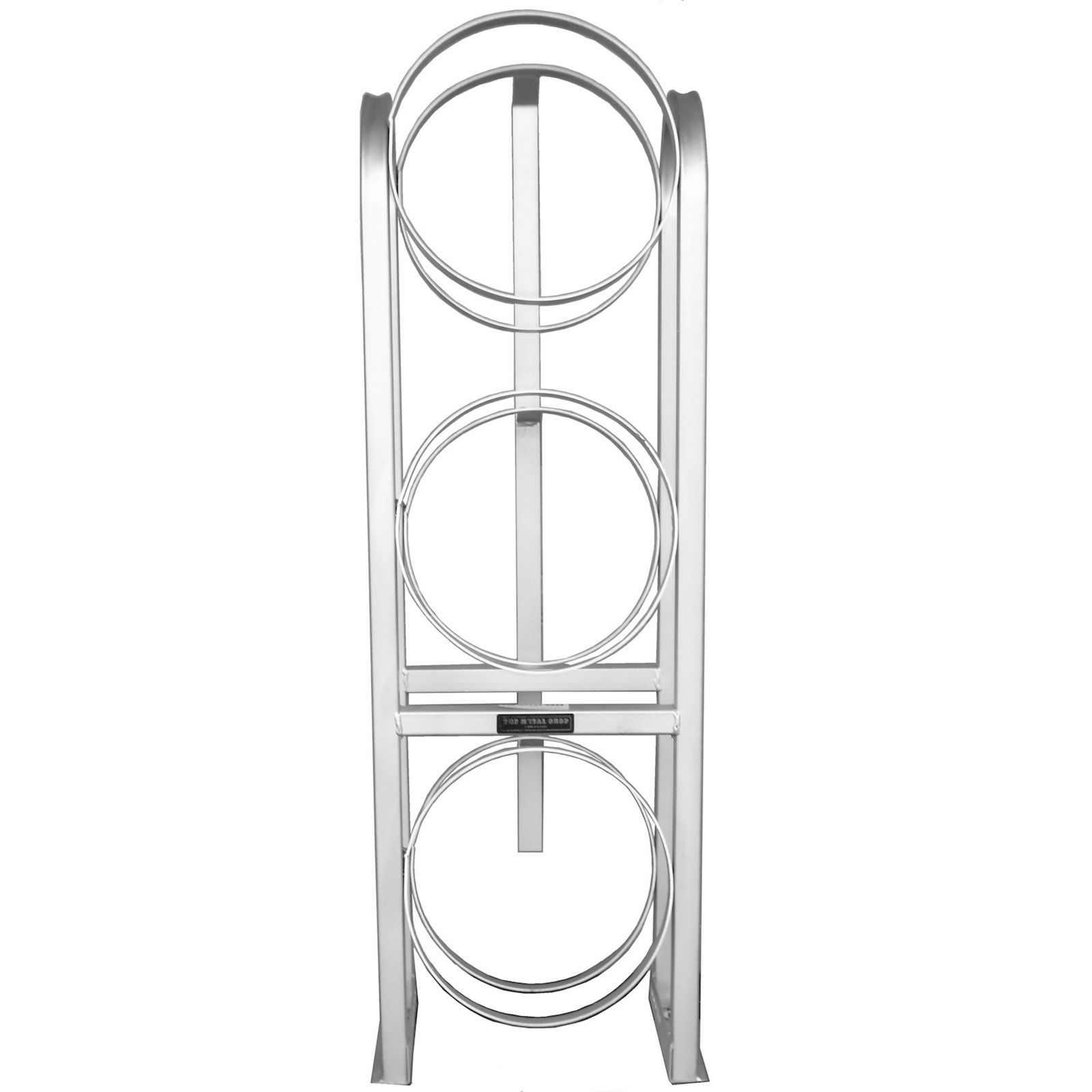 The Metal Shop 004-796 - Refrigerant Tank Rack, Shorty