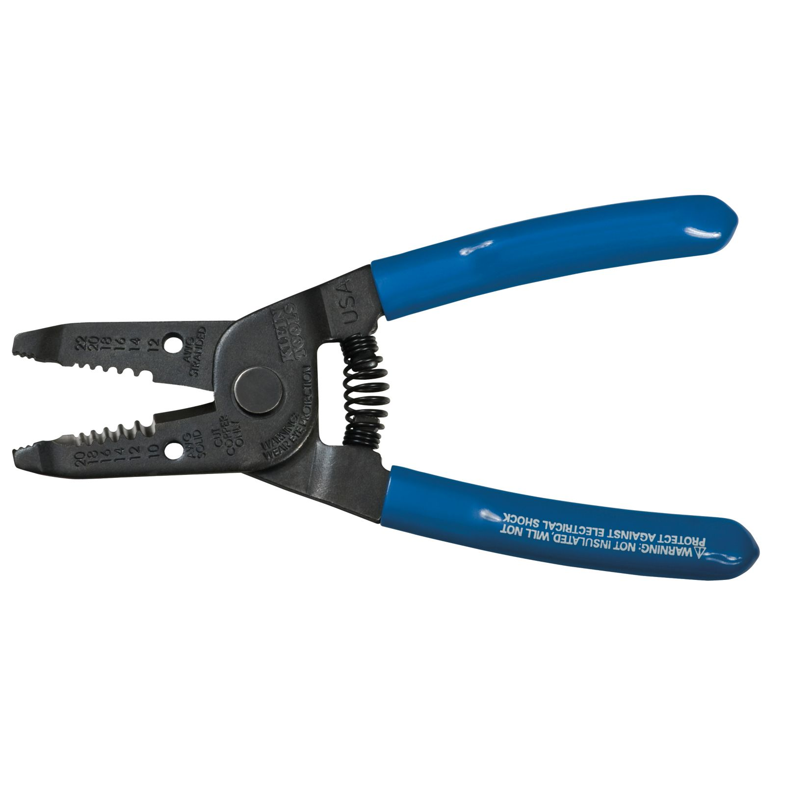 Klein 1011 - Wire Stripper/Cutter - Solid and Stranded Wire