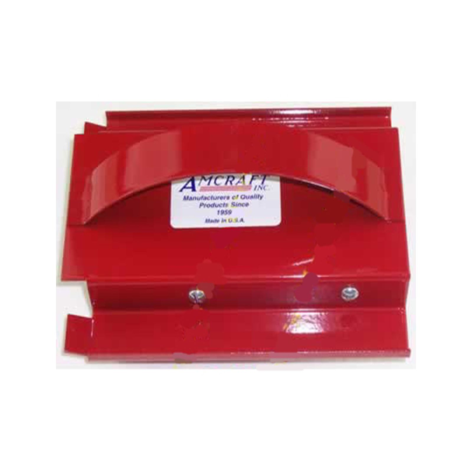 "Amcraft 1100 -  Red- 90 Degree ""V"" or Miter Cut 1"" Duct Board Tool"