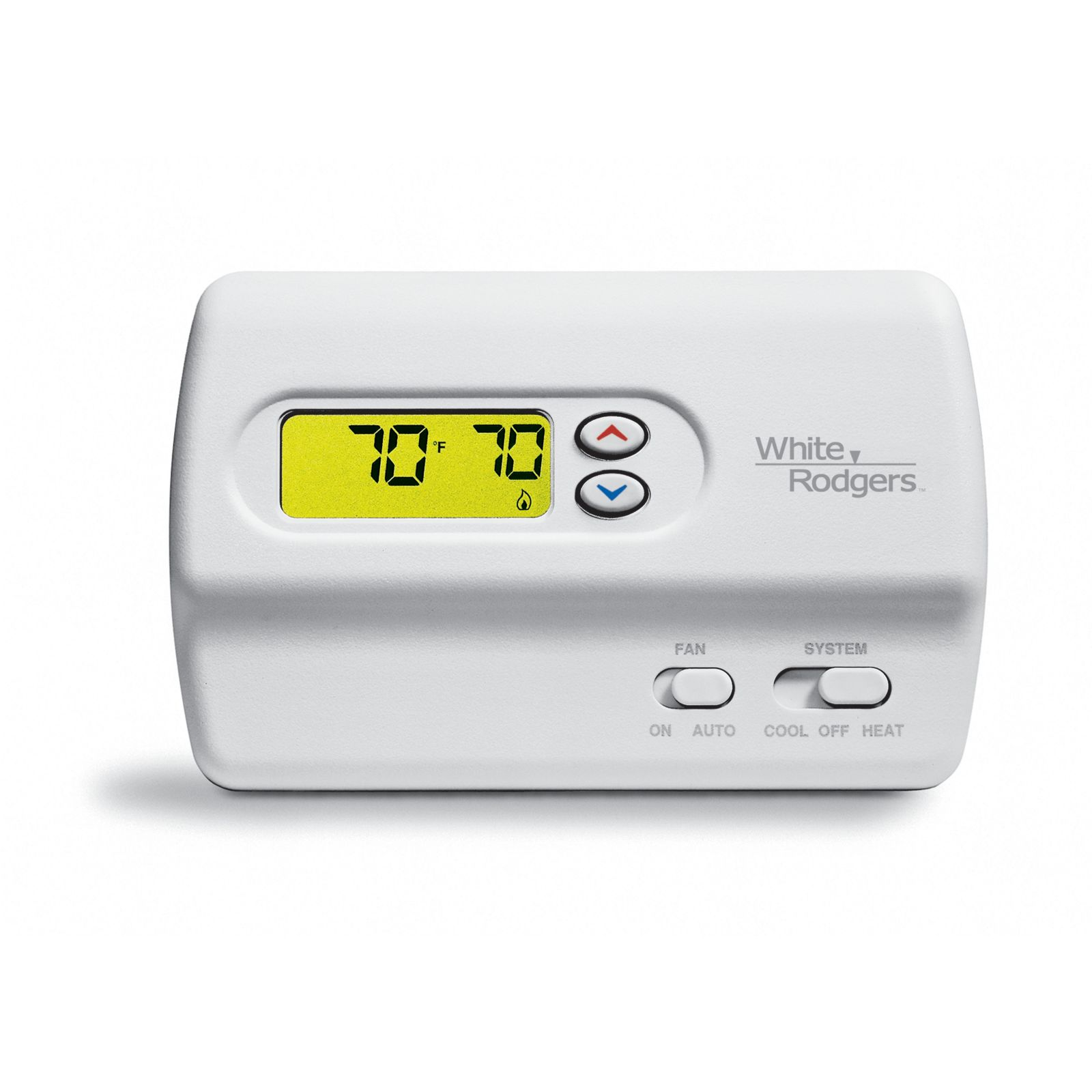 White-Rodgers 1F82-261 - 80 Series Programmable Digital Thermostat 2H/1C