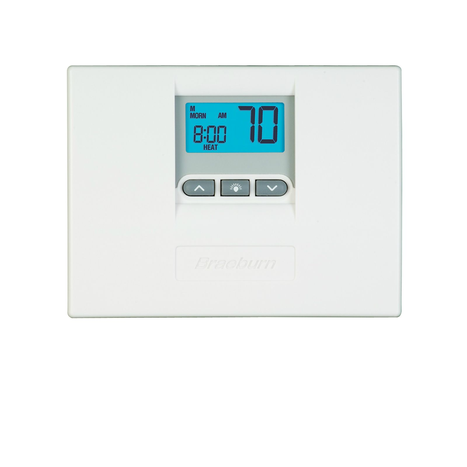 Braeburn 2000 - Builder Value 5-2 Day Programmable Thermostat 2 Heat/1 Cool