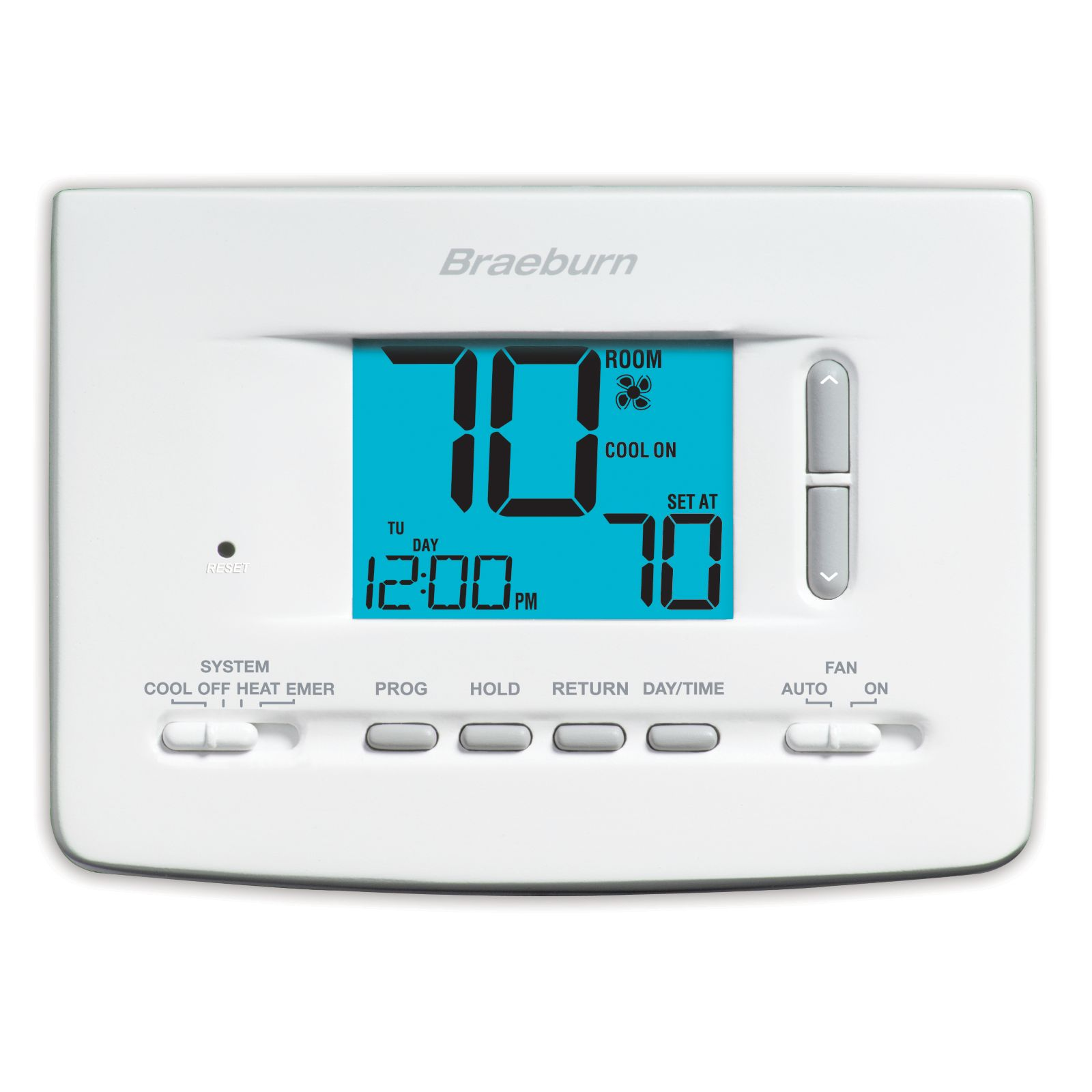Braeburn 2220 - Economy 5-2 Day Programmable Thermostat 2H / 2C