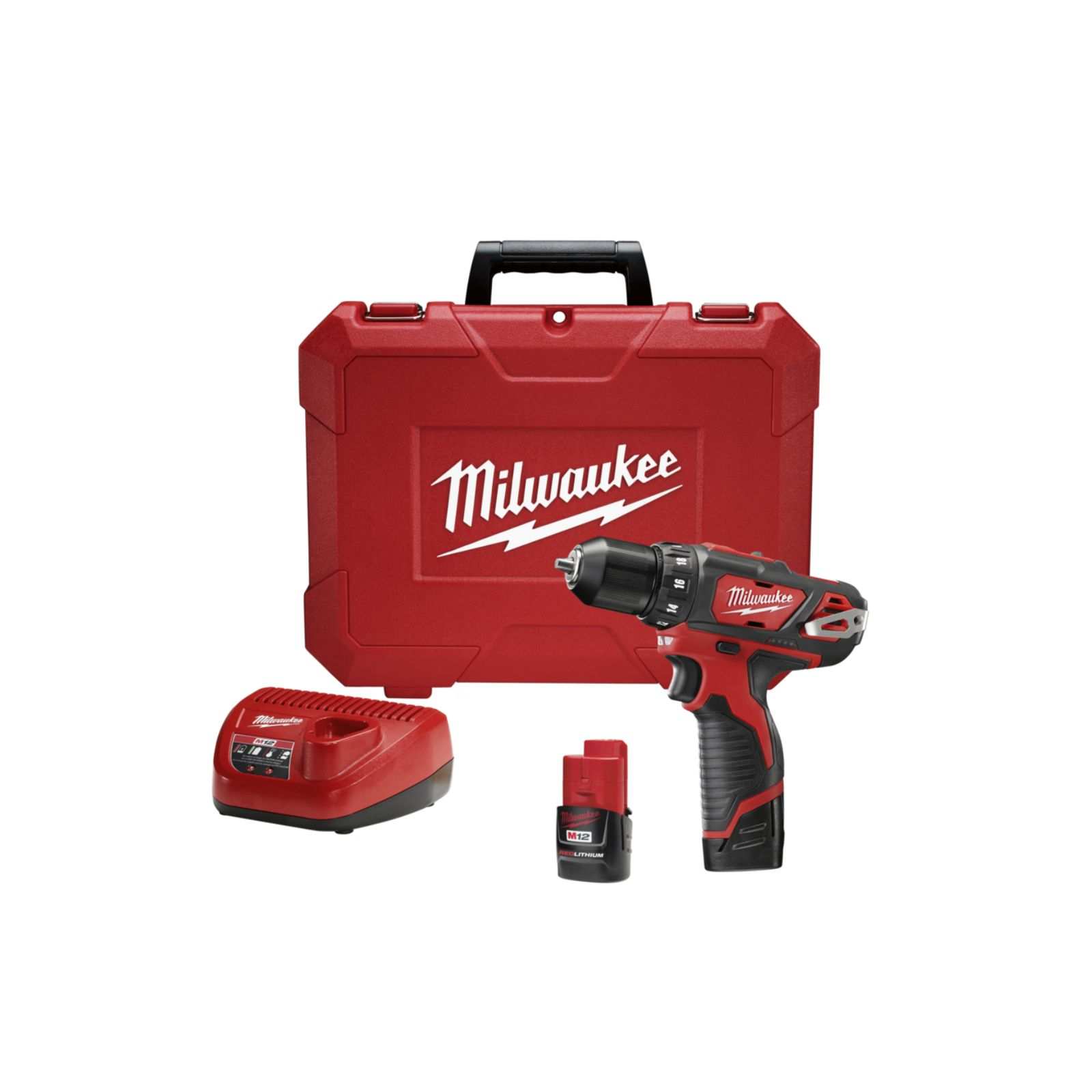 "Milwaukee 2407-22 - M12 3/8"" Drill/Driver Kit"
