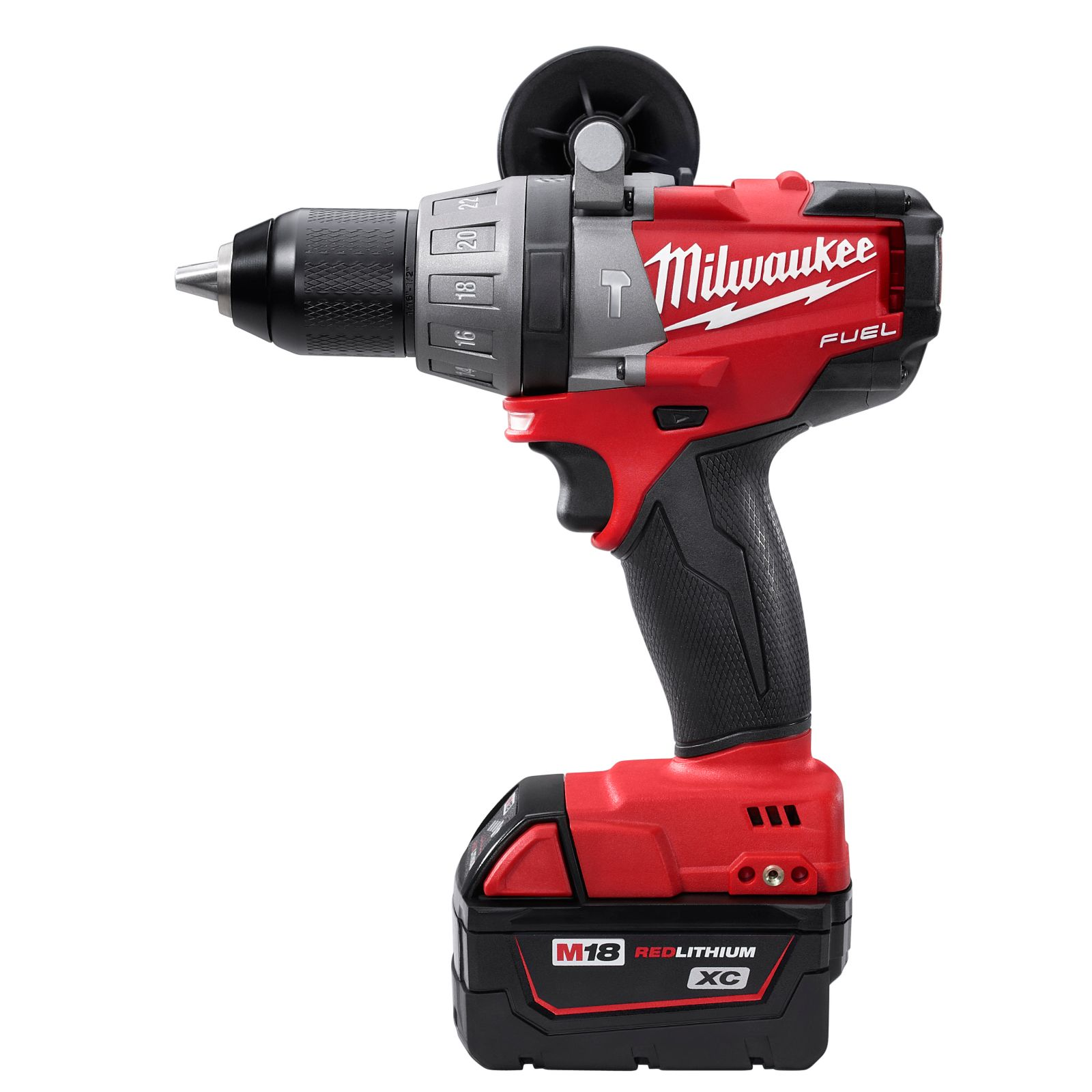 "Milwaukee Tool 2604-22 - M18 Fuel 1/2"" Hammer Drill/Driver Kit"