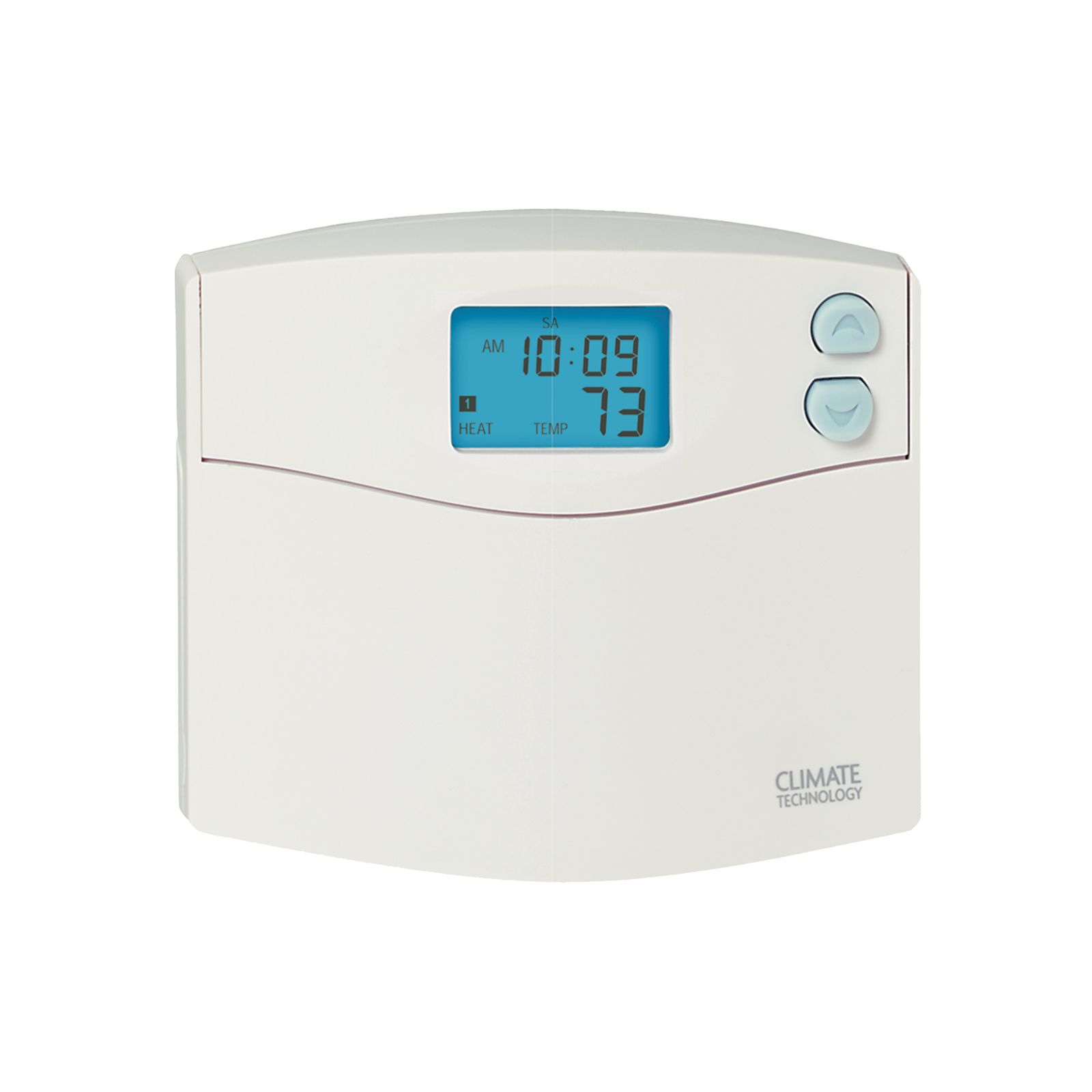 Supco 43154 -  Climate Technology Programmable Digital Wall Thermostat 1H/1C