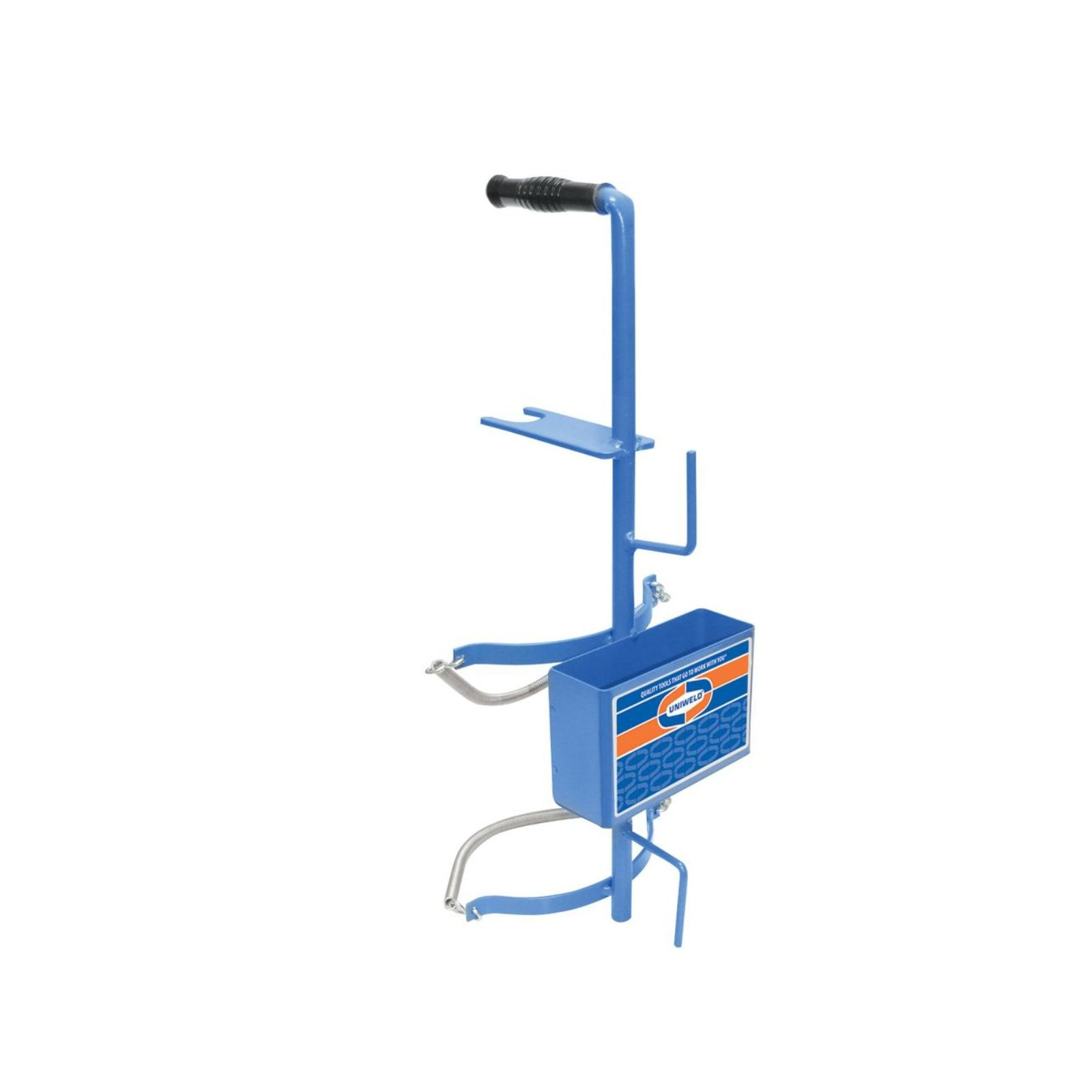 Uniweld 516 - Nitrogen / CO2 Carrying Stand for (1) 40 / 55 cu. ft. Nitrogen Tank or (1) 10 lb. CO2 Tank.