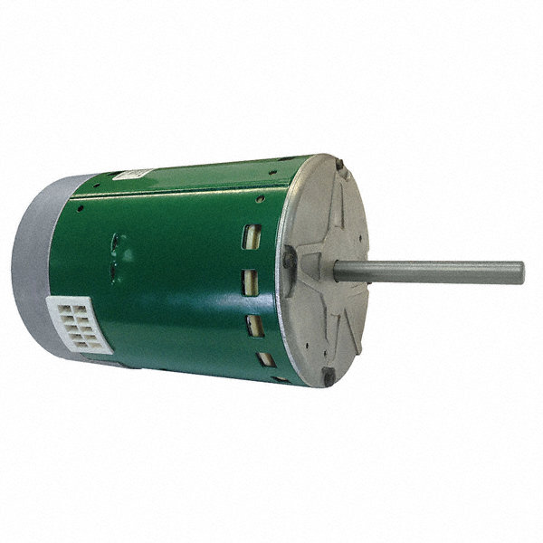GENTEQ 1 HP Direct Drive Blower Motor, ECM, 1050 Nameplate RPM, 460 Voltage, Frame 48