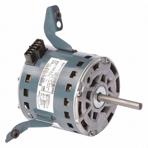 GENTEQ 1/2 HP Direct Drive Blower Motor, Permanent Split Capacitor, 1075 Nameplate RPM, 115 Voltage