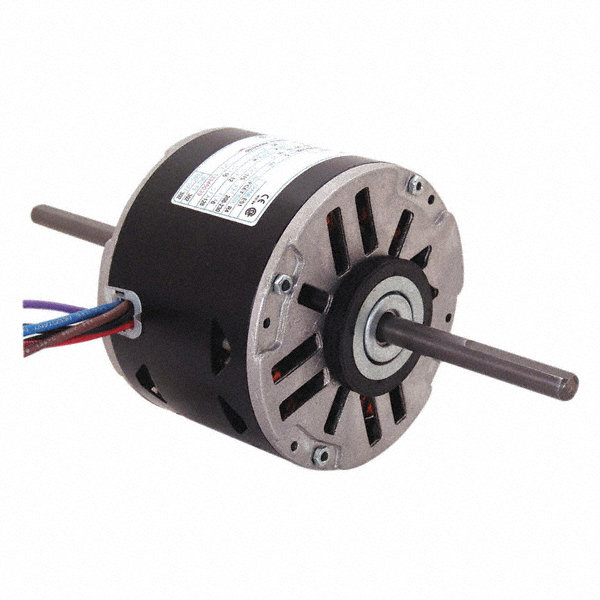 1/15 HP Room Air Conditioner Motor,Permanent Split Capacitor,1075 Nameplate RPM,115 Voltage,Frame 48