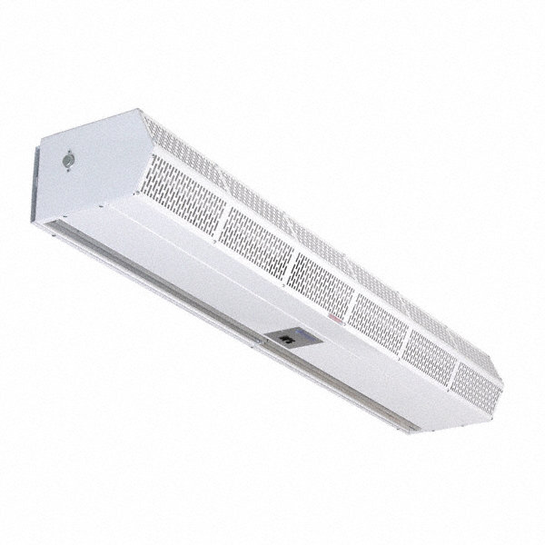BERNER Air Curtain, 3 ft. Max. Door Width, 8 ft. Max. Mount Ht., 54 dBA @ 10 Feet, 3567 fpm