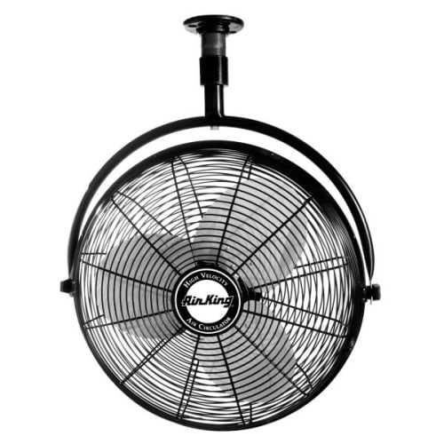 Air King 9320 20' 3670 CFM 3-Speed Industrial Grade Ceiling Mount Fan