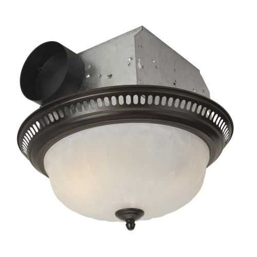 Craftmade TFV70L-D 70 CFM Decorative Bath Fan with Light