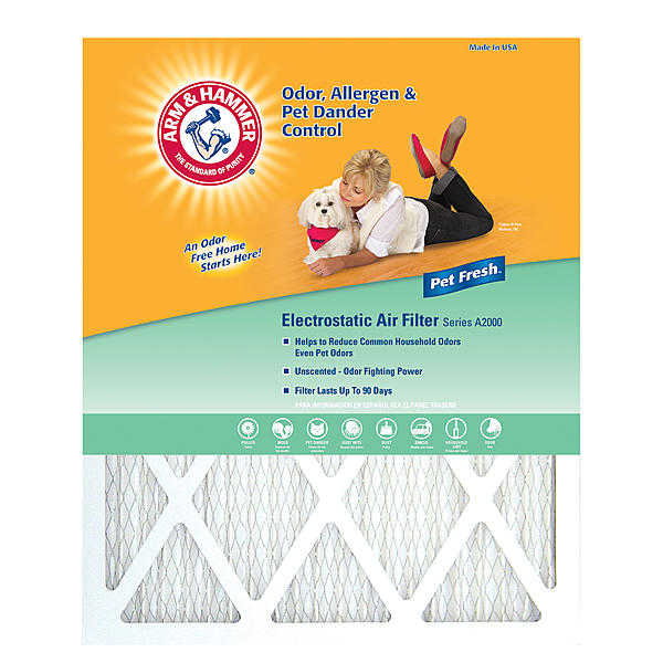 Arm & Hammer AF-AH1420.4 14x20x1 Furnace Filter 4 pack