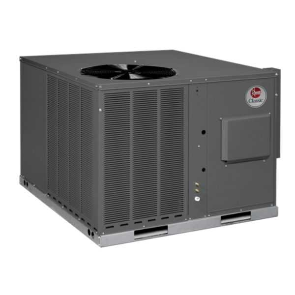 Rheem RGEA14048AJT08XAA - Classic 4 Ton 14 SEER Packaged Gas/Electric Unit, 208-230/1/60
