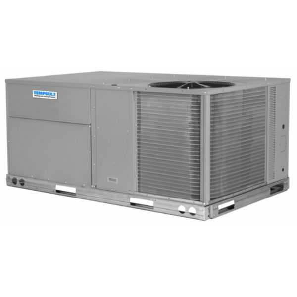 Tempstar RGS060HDCA0AAA - 5 Ton, 13 SEER, 10.8 EER, R410a Packaged Gas/Electric, 208/230V, 3 Phase, Medium Static Motor
