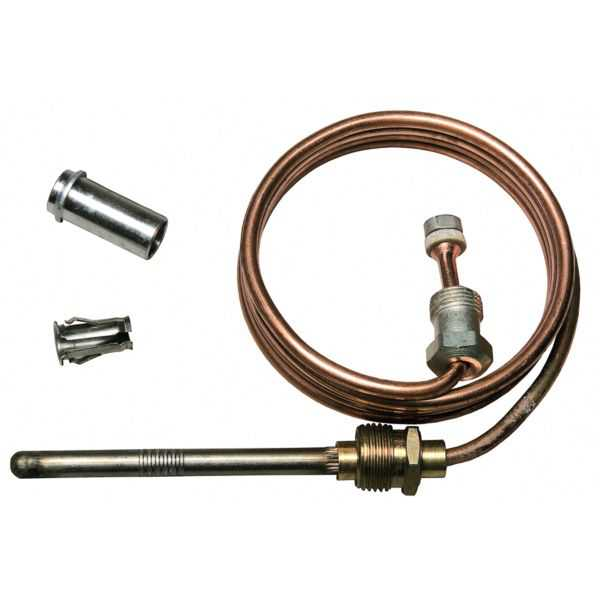 Honeywell Q390A1053 - Thermocouple, 30', Senses Pilot Flame on Gas-Fired Heating Systems