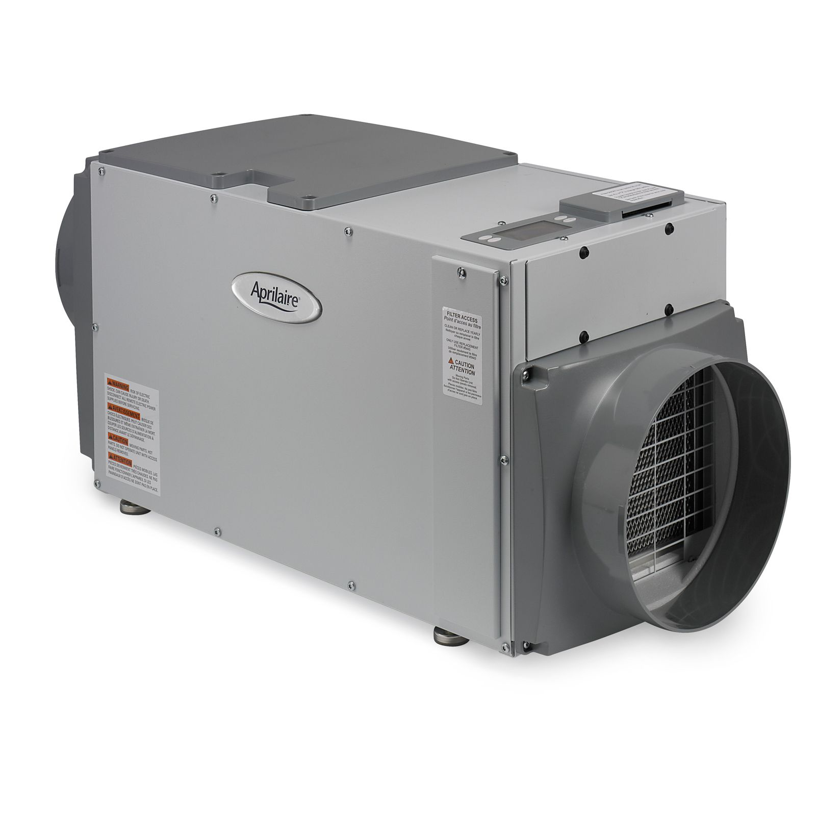 Aprilaire 8191 - Ventilator With Dehumidification, 100 CFM, 70 pint/day, 6.3 Amps, 120/1/60, Energy Star Qualified