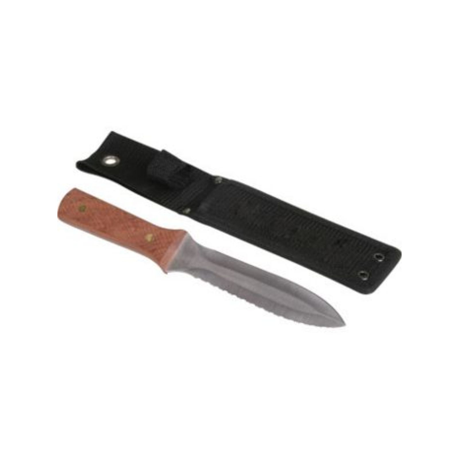 BMP BMKNF1 -  BM - Duct Knife - Stainless Steel Blade, Hardwood Handle, Serrated Blade