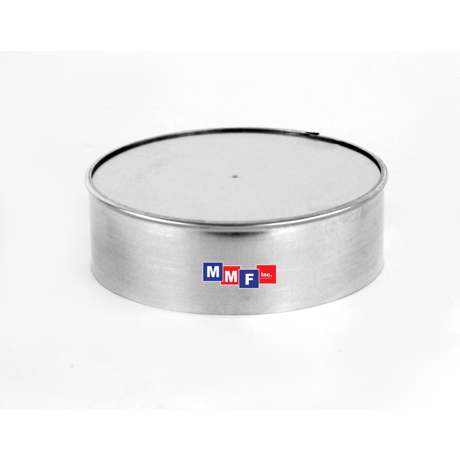 "Modular Metal ECI10 - End Cap - 26 Gauge - 2"" High 10"" Round - Galvanized"