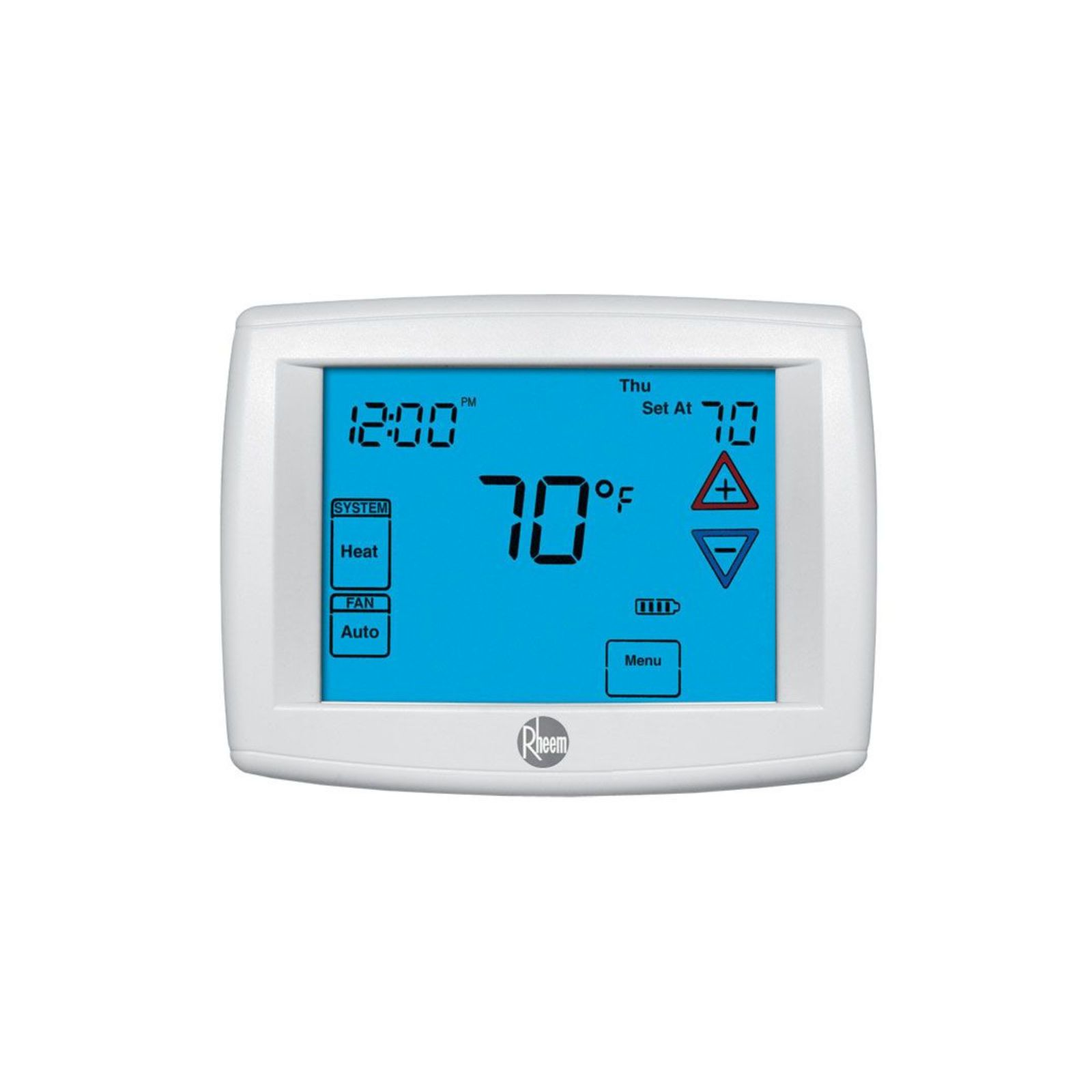 Rheem RHC-TST301GESS -  Touchscreen Thermostat (GE/HP: 1H/1C)