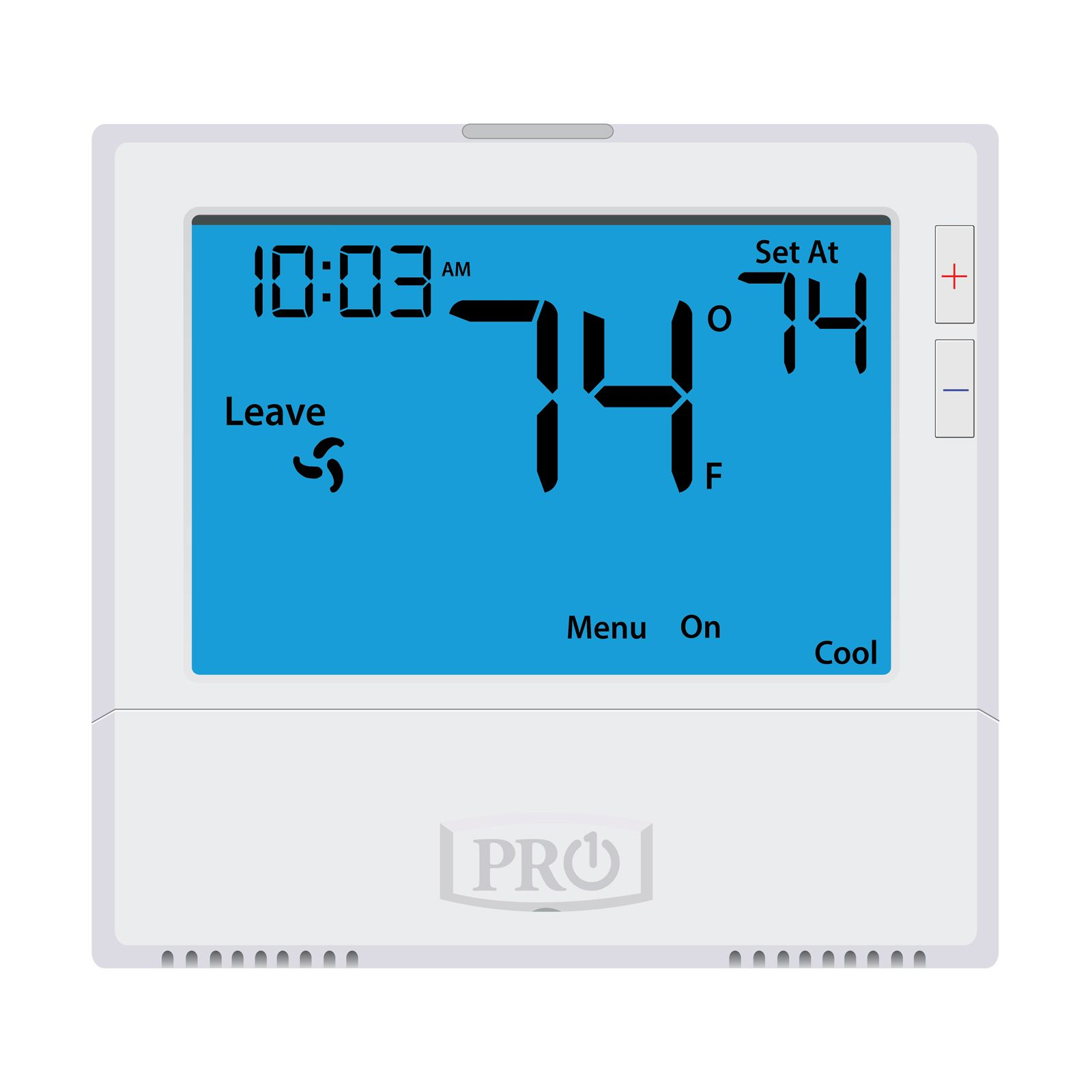 Pro1 T805 - 5+1+1 Or 7 Day Or Non-Programmable Thermostat, 1H/1C With 8 Square Inch Display